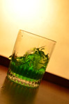 Green Liquid Glass - Public Domain Pictures