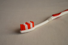 Red Toothbrush - Public Domain Pictures