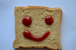 Bread Slice Smile Emotion - Public Domain Pictures
