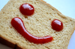 Ketchup Bread Smile - Public Domain Pictures