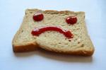 Sad Smiley Bread - Public Domain Pictures