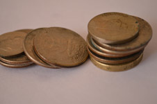 204-stack-of-coins - Public Domain Pictures