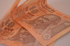 Ten Rupee Notes - Public Domain Pictures