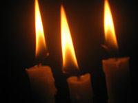210-three-candles - Public Domain Pictures