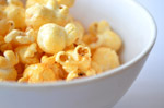 Bowl Of Popcorn Closeup - Public Domain Pictures