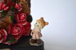 Little Girl Statue Roses - Public Domain Pictures