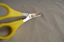 Yellow Scissors 2 - Public Domain Pictures