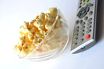 Popcorn Tv Remote Couch Potato - Public Domain Pictures