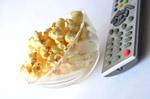 2311-popcorn-tv-remote-couch-potato - Public Domain Pictures