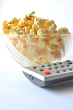 Popcorn Tv Remote - Public Domain Pictures