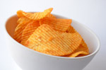Potato Chips Bowl - Public Domain Pictures