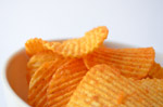 2317-potato-chips-in-a-bowl - Public Domain Pictures