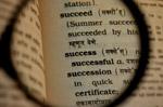 Success Dictionary - Public Domain Pictures