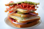 Vegetable Sandwich 5 - Public Domain Pictures