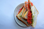 Vegetable Sandwich - Public Domain Pictures