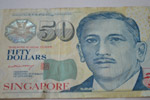 Singapore Fifty Dollars Closeup - Public Domain Pictures