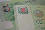Singapore Five Dollars - Public Domain Pictures