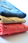 Clothes Stack Jeans - Public Domain Pictures