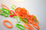 Colorful Rubber Bands 2 - Public Domain Pictures
