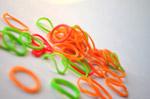 Colorful Rubber Bands 2 - Public Domain Pictures
