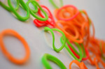 Colorful Rubber Bands 4 - Public Domain Pictures