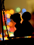 Couple Silhouette - Public Domain Pictures