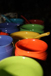 Colorful Bowls - Public Domain Pictures