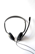 Headphones Black - Public Domain Pictures