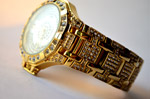 Jewelry Watch Gold Diamonds - Public Domain Pictures