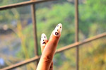 Sad Happy Nail Art - Public Domain Pictures