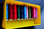 Threads Tailor Colors 3 - Public Domain Pictures