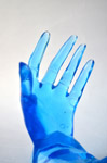 Blue Hands - Public Domain Pictures