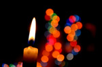 Candle Bokeh Lights - Public Domain Pictures