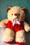 Cute Teddy Bear Toy - Public Domain Pictures