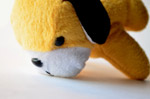 Cute Yellow Soft Toy - Public Domain Pictures
