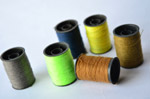 Green Cool Colors Threads Spools - Public Domain Pictures