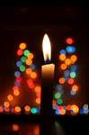 Candle Flame Bokeh Lights - Public Domain Pictures