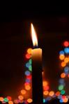 Christmas Lights - Public Domain Pictures