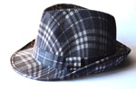 Fashion Checked Hat - Public Domain Pictures