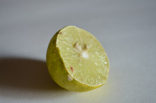 Cut Lemon - Public Domain Pictures