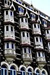 Taj Mahal Hotel Windows - Public Domain Pictures