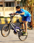 Kid Cycle Rider Tricks Stunts - Public Domain Pictures