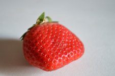 Single Strawberry - Public Domain Pictures