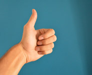 Thumbs Up Hand - Public Domain Pictures