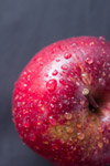 Apple Water Droplets - Public Domain Pictures