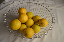 Lime Basket - Public Domain Pictures