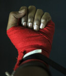 Kickboxing Hand Closeup - Public Domain Pictures