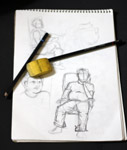 Portraits Sketching Practice - Public Domain Pictures