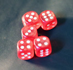 Red Dice - Public Domain Pictures