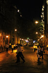 Streets Of Mumbai Night - Public Domain Pictures